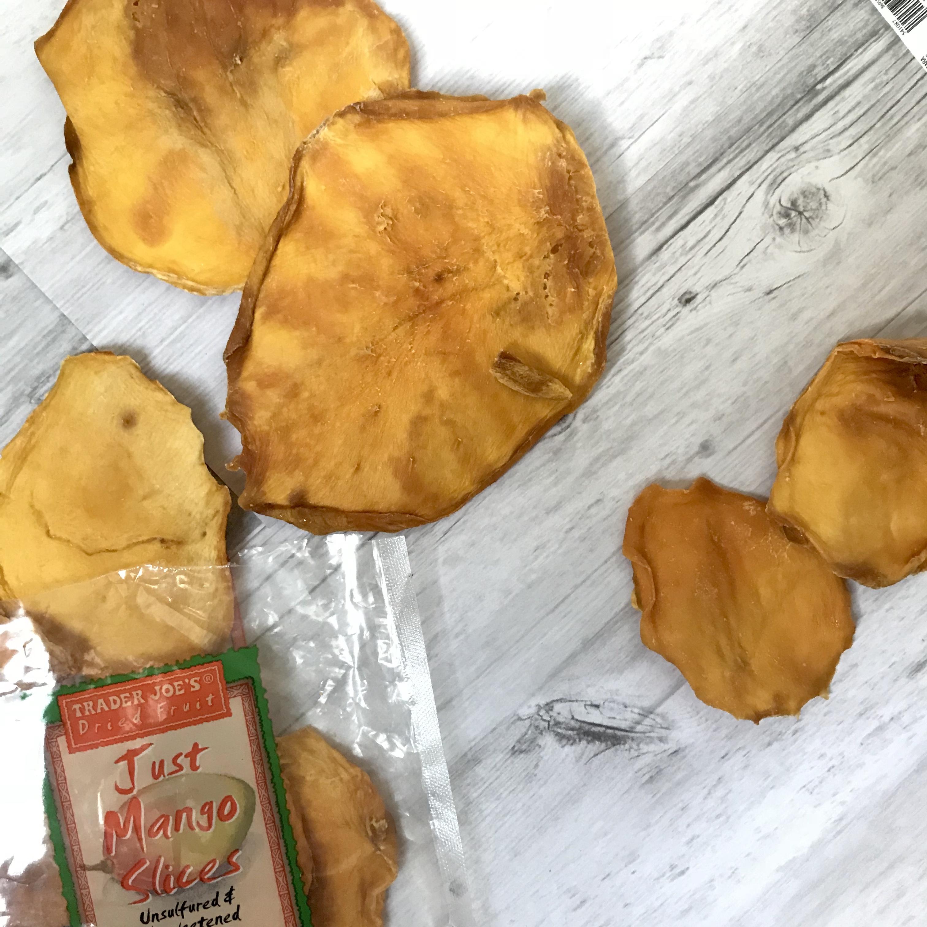 trader joe's just mango slices, dried mango, natural dried mango slices